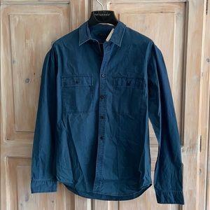 Theory Men's Button Down Shirt NEW Medium